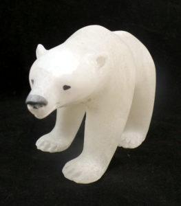 Soapstone Carving Polar Bear