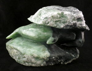 Soapstone Carving Beluga