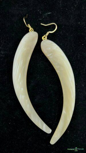 Muskox Horn Earrings