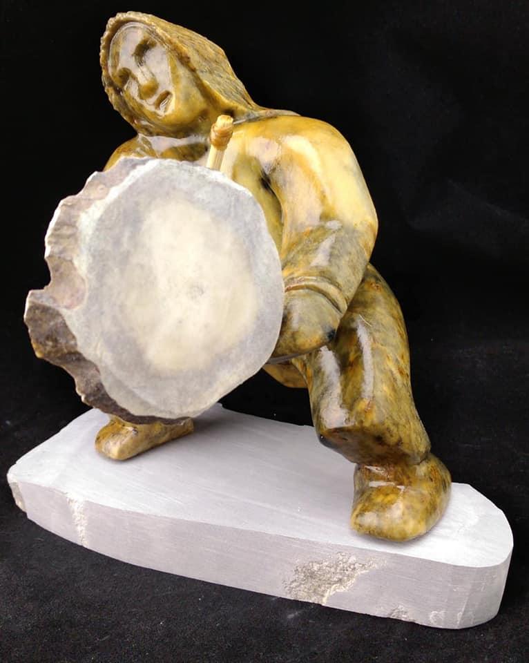 Inuvialuk Drummer